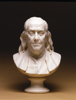 Portrait bust of Benjamin Franklin