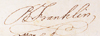 Franklin's Signature
